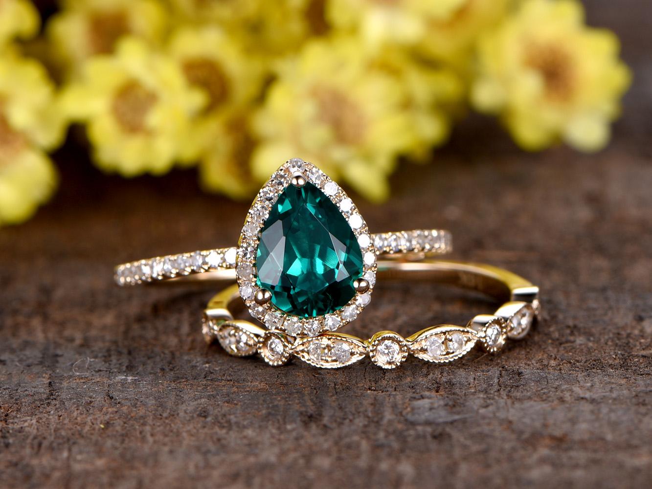 2017 Most Popular Colored Gemstone Engagement Rings Bbbgem