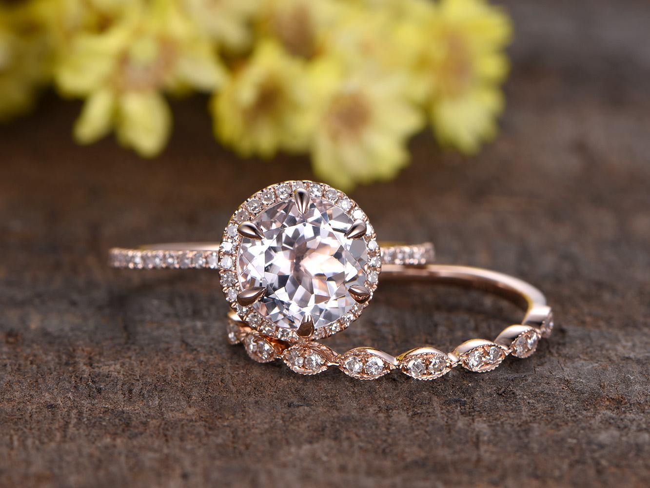 BBBGEM Jewelry Company Announces Outstanding Range Of Morganite Engagement Rings for Couples
