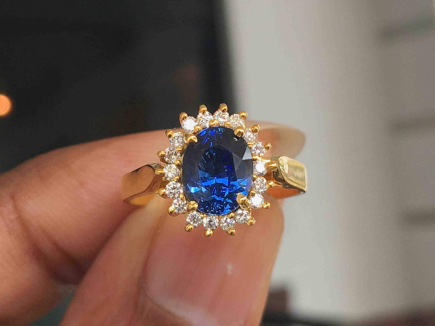 blue sapphire engagement rings 2021
