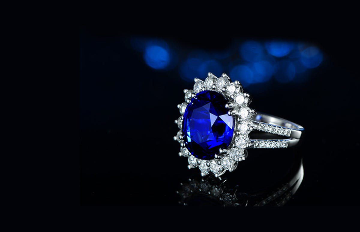 blue sapphire ring 2021