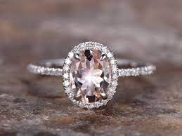 Morganite Rose Gold Engagement ring 2021